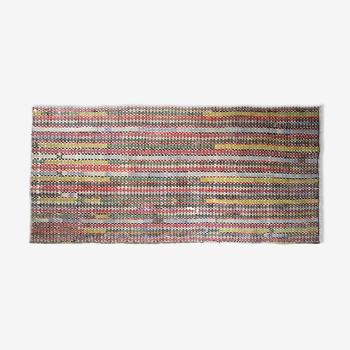 Tapis kilim anatolien fait à la main 275 cm x 130 cm