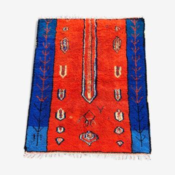 Tapis berbere rouge 200x300 cm