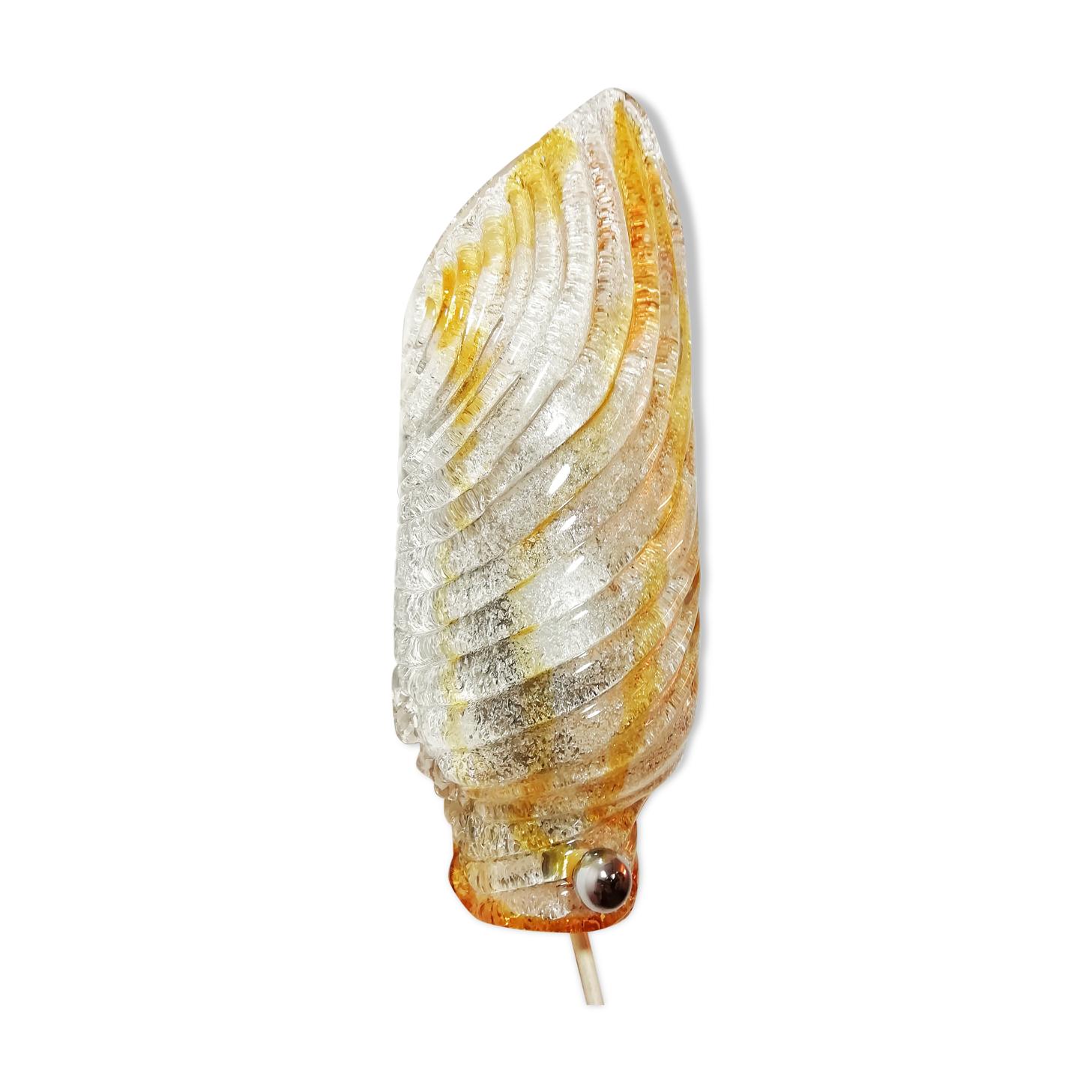 Applique de Mazzega de cristal de Murano