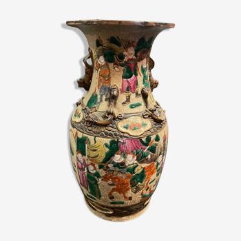 Vase porcelaine chinoise nankin