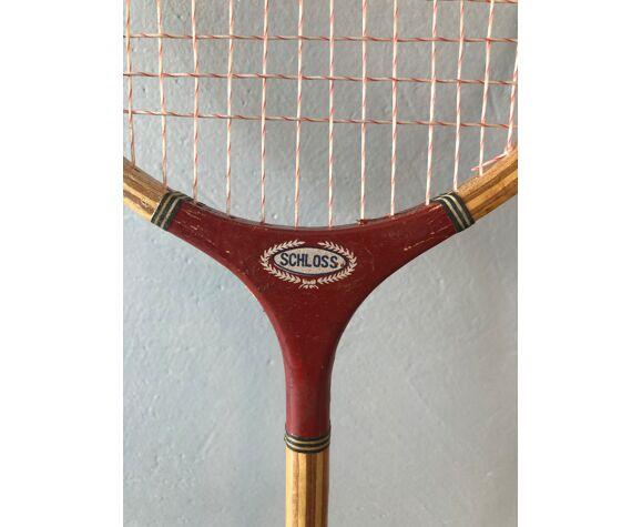 2 raquettes de badminton vintage