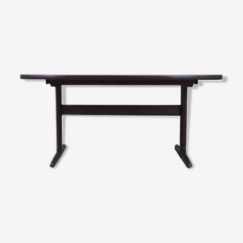 Table en chêne, design danois, années 1960, fabriquée par Skovby Møbelfabrik