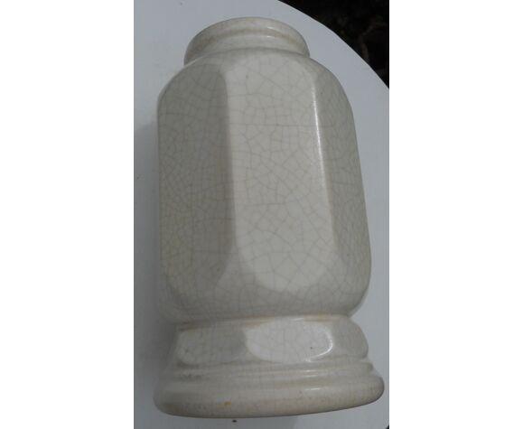 Vase céramique craquelée Georges Jaegle