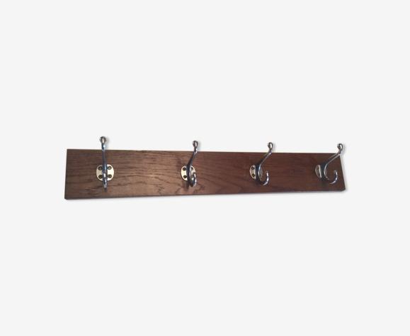 Porte manteaux vintage années 60/70 en bois