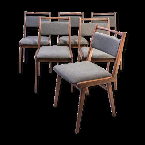 Ensemble de chaise de type «Jar» rembourré Usine de meubles pliés Jasienica