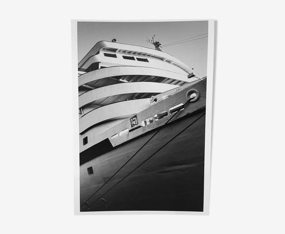 Photograph of an ocean liner