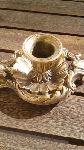 Bougeoir rat de cave en bronze