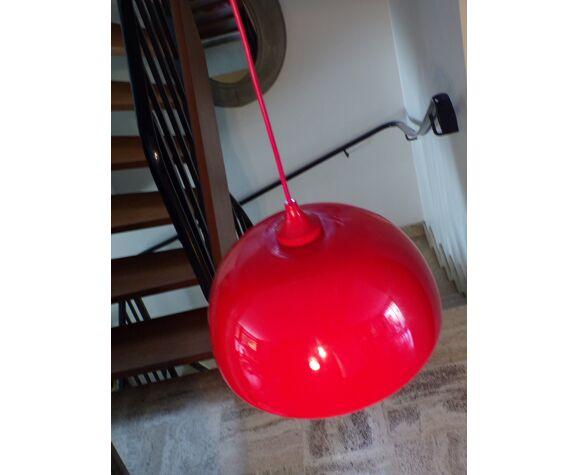 1970 suspension in red opaline