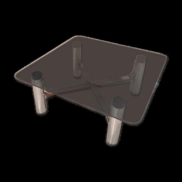Table basse carrée du milieu du siècle