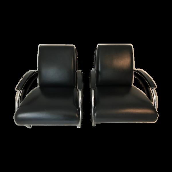 Selency Paire de fauteuils Gelderland par Jan Des Bouvrie