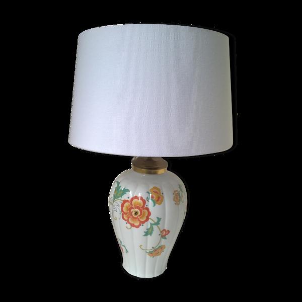 Lampe de table en porcelaine Thomas -Bavaria 1960