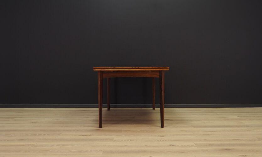 Table à manger palissandre vintage design danois