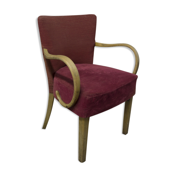 Chair upholstered in bentwood 30 years