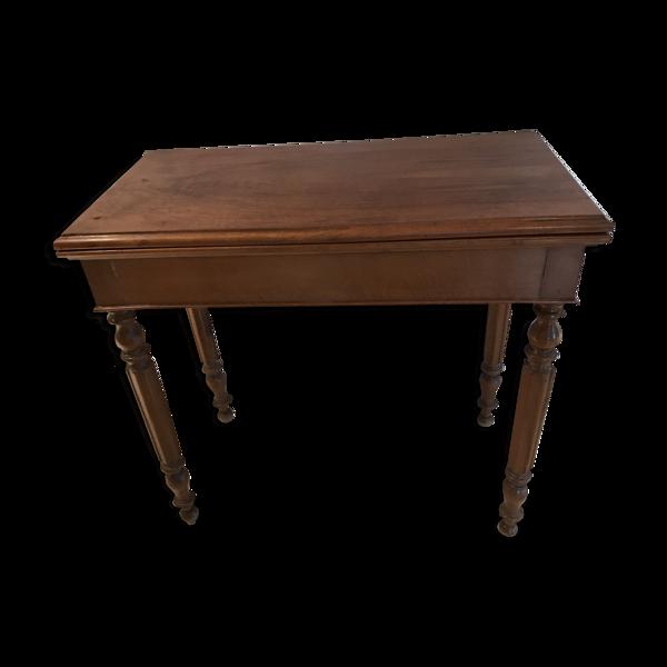 Table à jeu Louis Philippe