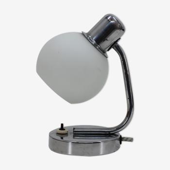 Lampe de table bauhaus des années 1940 Tchécoslovaquie