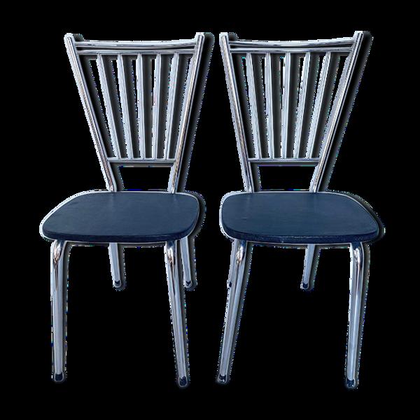 Paire chaises 70's