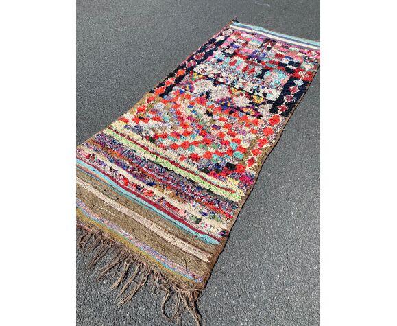 Tapis berbere boucherouite 110x270 cm
