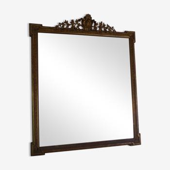 Miroir trumeau h 200, l 165