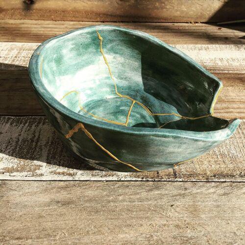 Céramique style Kintsugi