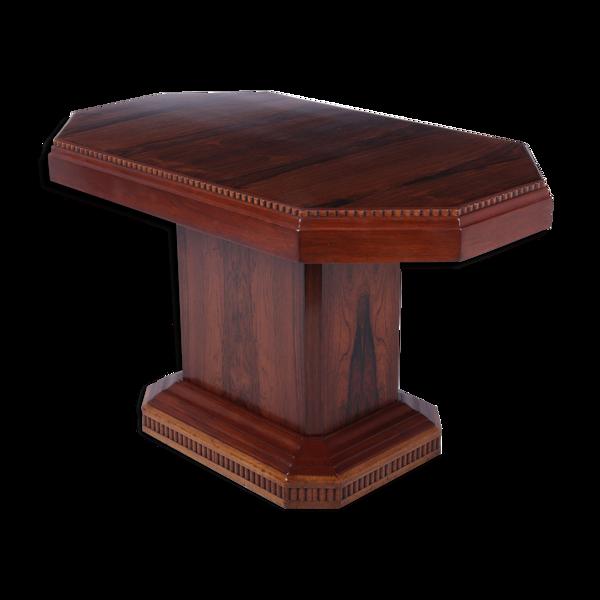 Selency Table basse Art déco française en bois de rose c 1920