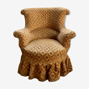 fauteuil crapaud Napoléon III