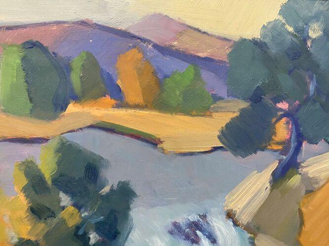 Peinture à l'huile - flow