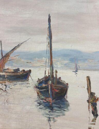 Tableau, huile sur toile - joseph crozes - marine 1942