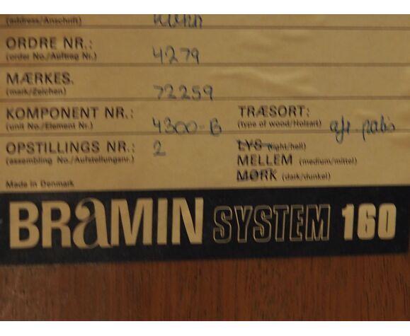 Commode de Kai Kristiansen édition Bramin années 1970