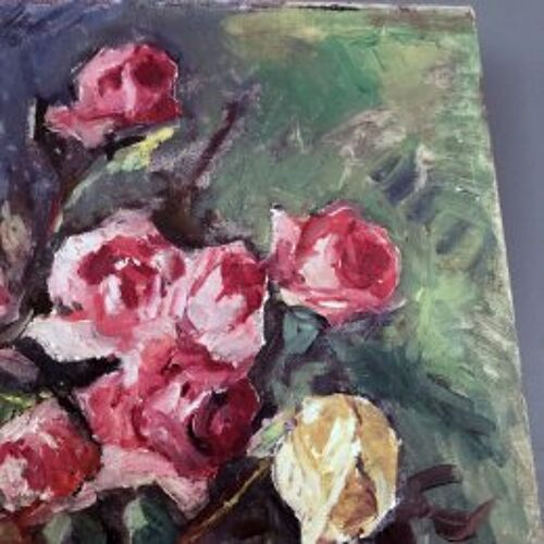 """Tableau """"Les roses"""""""