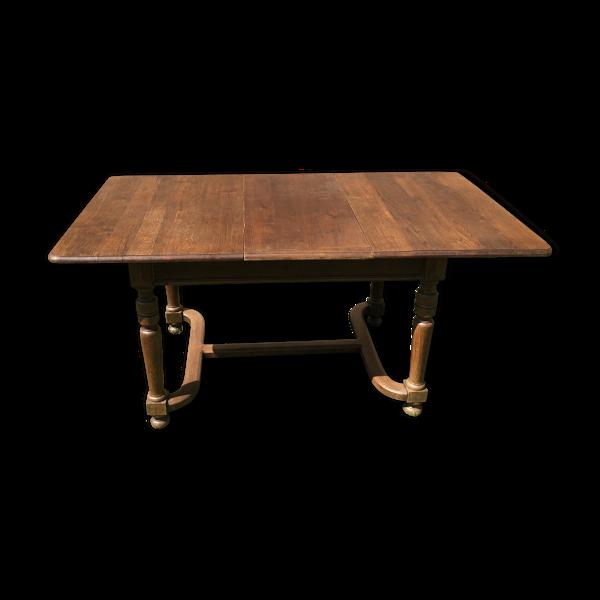 Table à rallonges en chêne