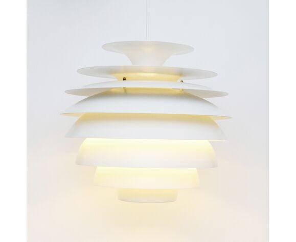 Vintage Barcelona Lamp, B. Karlby for Lyfa, Danish 1970s