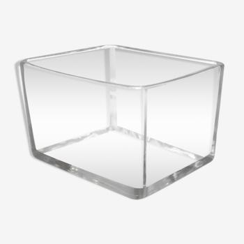 Pot verre rectangle