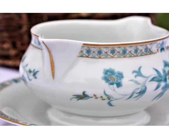 Saucière porcelaine Haviland Nankin, porcelaine de Limoges