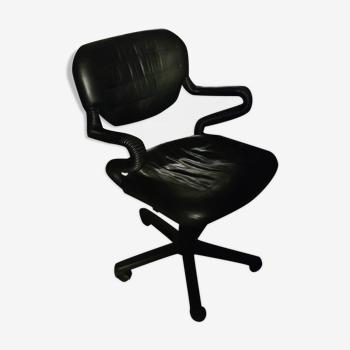 "Fauteuil de bureau vers 1980 dit  "" vertebra"" design italien de giancarlo piretti et emilio ambasz p"