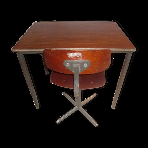 Bureau et chaise enfant 1960