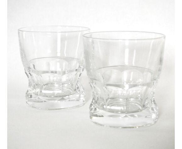 6 verres à whisky cristal