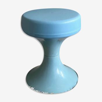 Tabouret vintage en plastique