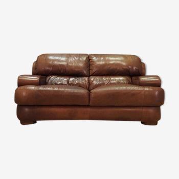 Canapé cuir design danois 60 70