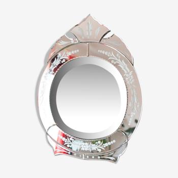 Miroir vénitien à poser