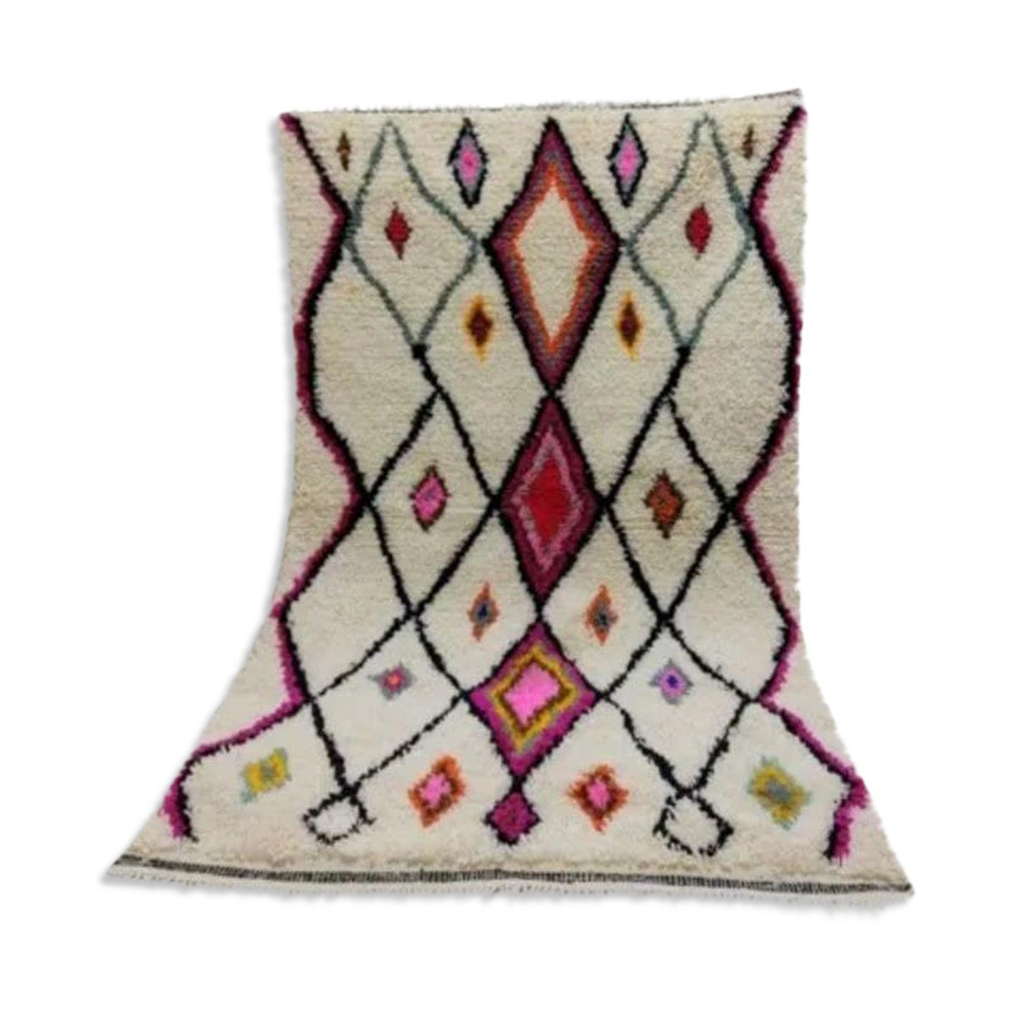 Tapis berbere marocain 163x110cm