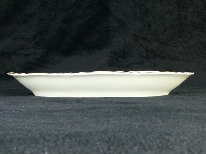 Ravier en porcelaine de Limoges Bernardaud modele louis xv