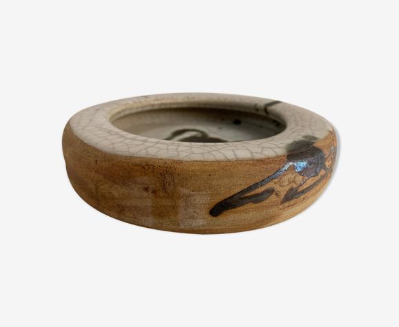 Cendrier en grès et céramique Poterie de la Colombe, Vallauris