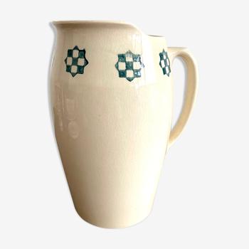 Vase cruche terre de fer