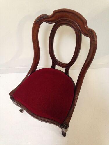 Chaise gondole ancienne style Empire