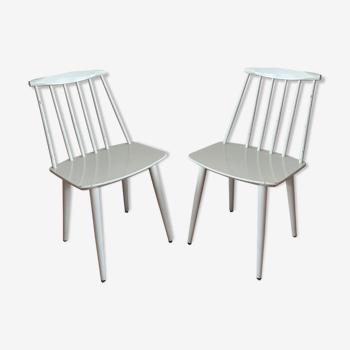 Set de 2 chaises scandinave Mobler 1960