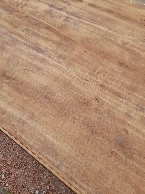 Table de ferme ancienne en chêne - 1m62