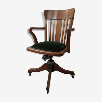 Chaise de bureau du milieu du siècle de Hillcrest, années 1930