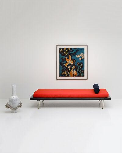 Lit de repos exclusif conçu par Alfred Hendrickx