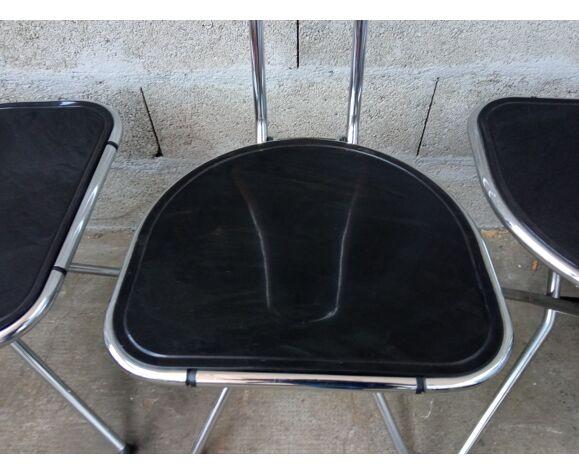 Set de 4 chaises pliantes de Niels Gammelgaard pour Ikea