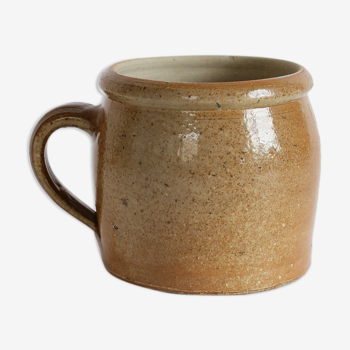 Sandstone grease pot